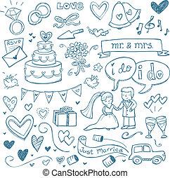 doodles, 結婚式