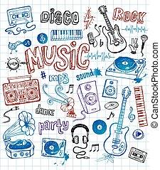 doodles, 音楽