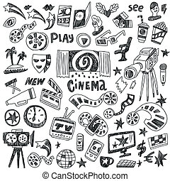 doodles, cinema