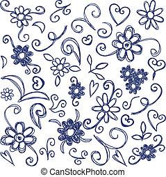 doodles, elementara, design
