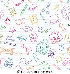 doodles, escuela