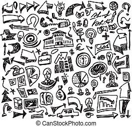 doodles, geschaeftswelt
