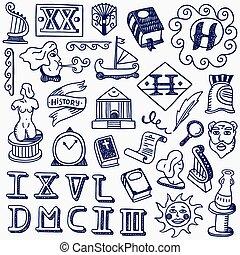 doodles, histoire