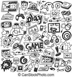 doodles, jeux ordinateur