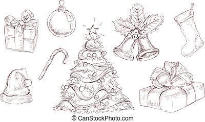 doodles, karácsony