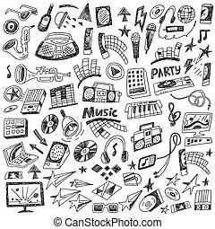 doodles, música