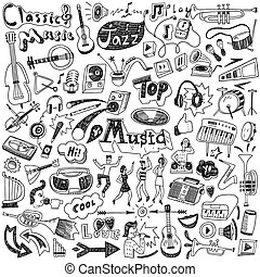doodles, musik