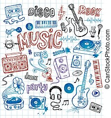 doodles, musique