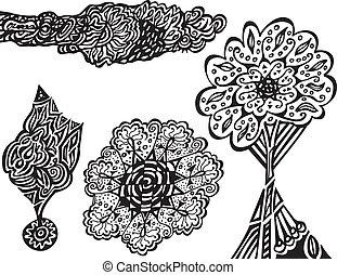 doodles, original