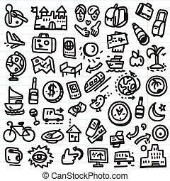 doodles, viagem
