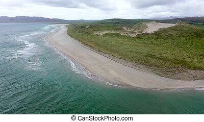 Dooey beach by Lettermacaward in County Donegal - Ireland.