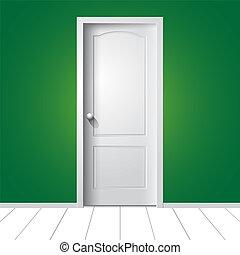 door., イラスト, ベクトル