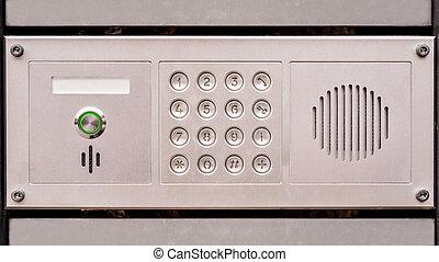 door acces panel