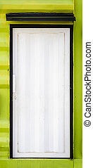 Door and mailbox