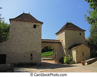 Door Castle Lagrezelle