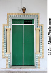 Door from Sousse, Tunisia - Traditional door from Sousse,...
