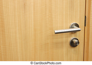 Door handle - Handle of an office wood door