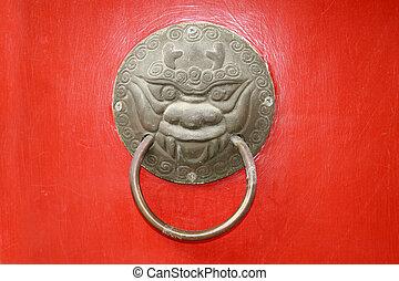 Door handle hardware