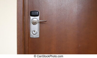 Door hanger do not disturb on handle
