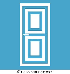 Door icon white