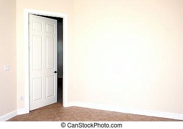 door in big wall