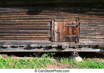 door in old barn