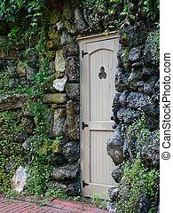 door in stone