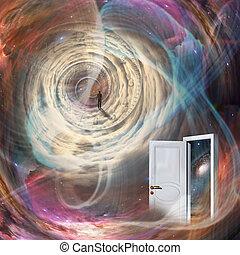 Door in time