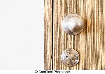 Door knob decoration interior - Vintage Light Filter