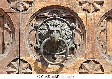 Door knob w Trydent
