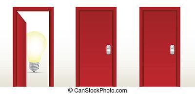 door leading to great ideas