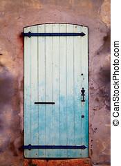 Door of a medieval fort.