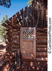 Door of Cabin Ruin