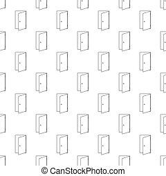 Door pattern seamless
