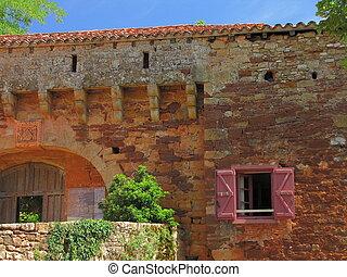 Door, ramparts
