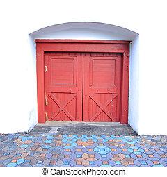 door., rosso