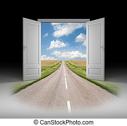 Door to a new reality