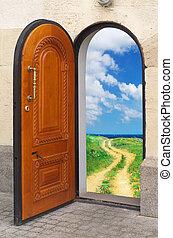 Door to freedom.