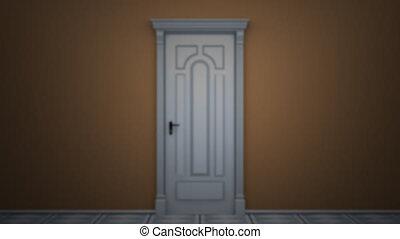 Door to green key