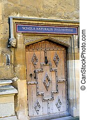 Door to learning bodleian  library