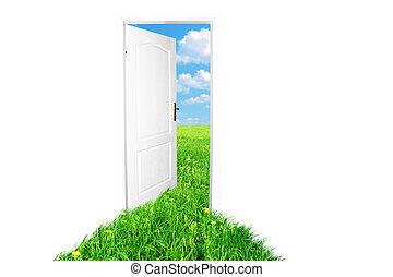 Door to new world. Version 2