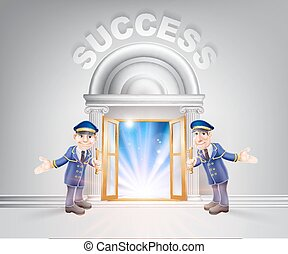 Door to Success and Doormen