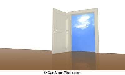 Door to the sky