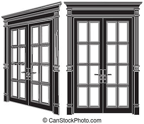 Door Vector 02 - Door Isolated Illustration Vector
