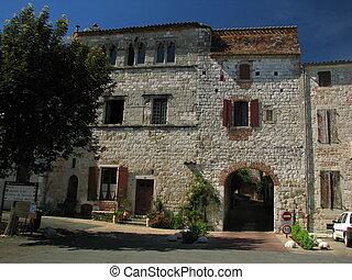 Door, Village of Penne-Agennais