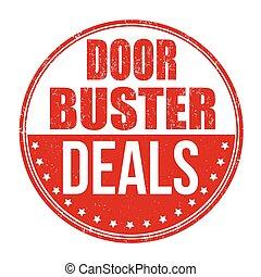 Doorbuster deals stamp
