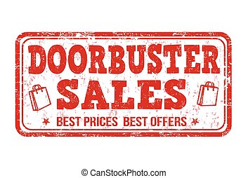 Doorbuster sale st& - Doorbuster sale grunge rubber st&.  sc 1 st  Can Stock Photo & Doorbuster Illustrations and Stock Art. 28 Doorbuster illustration ...