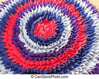 Doormat colorful background