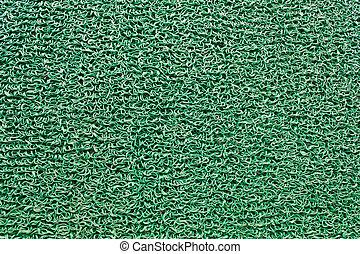 doormat, groene, plastic