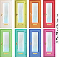 doors., コレクション, カラフルである